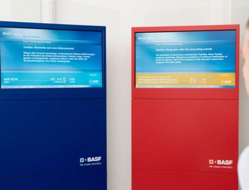 BASF-Fallstudie: 113.000 Mitarbeitern informieren