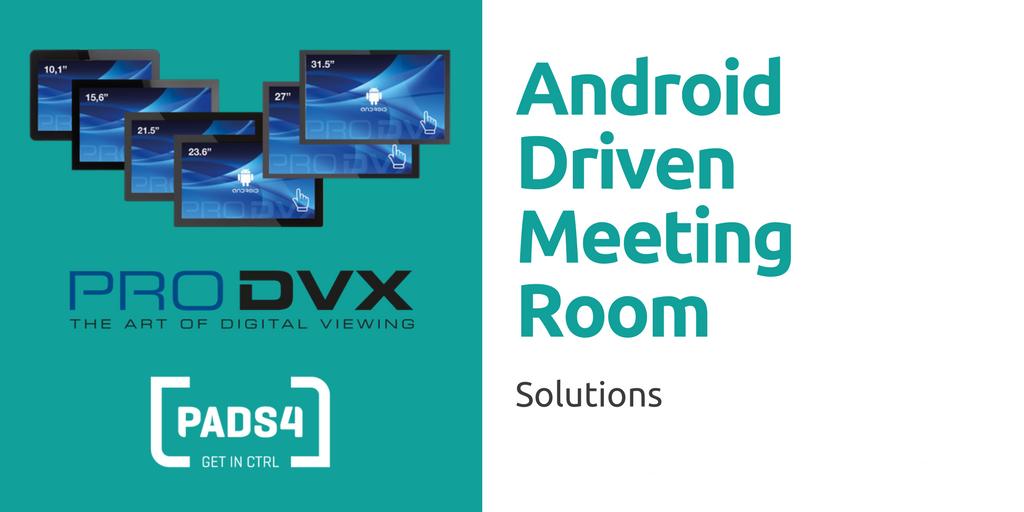 Android basierende Meetingraum Lösung
